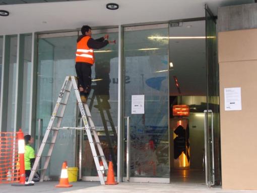 Construction at ACMI- Tessa Mudge