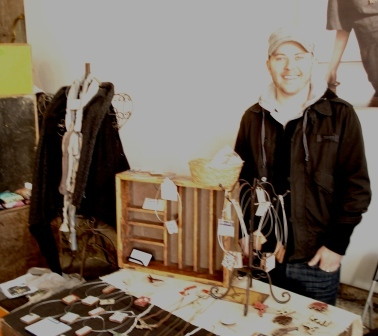 Jarryd's selling for Shona Design jewellery (his girlfiend)