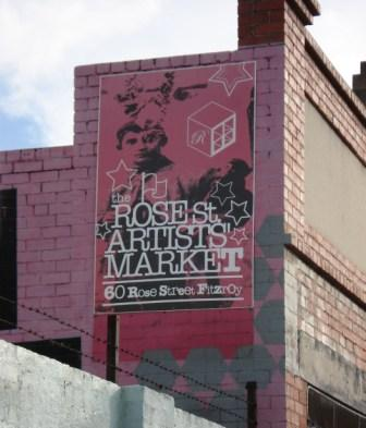 The Rose Street Artist Market, Fitzroy