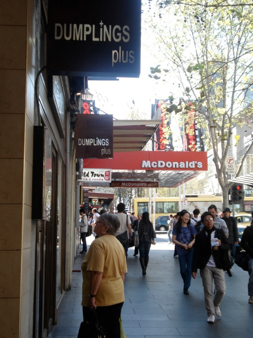 Dumplings and Maccas by Tessa Mudge